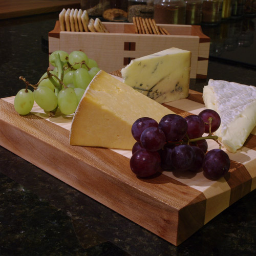 Cheese Board & Box - dressed
