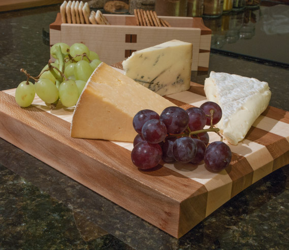 Cabinetmaking Hand Skills Week Cheese Board & Biscuit Box
