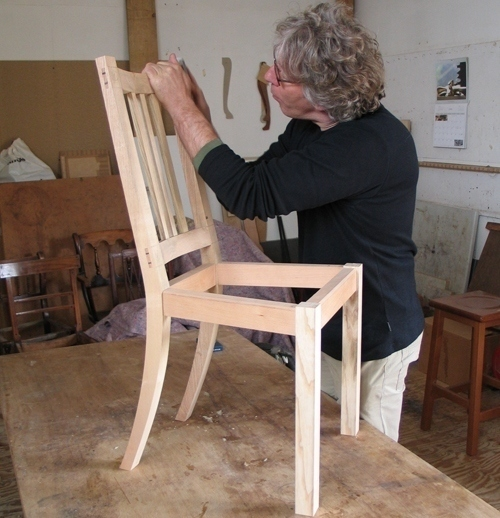 conquering chairs making a child 39 s chair by john lloyd