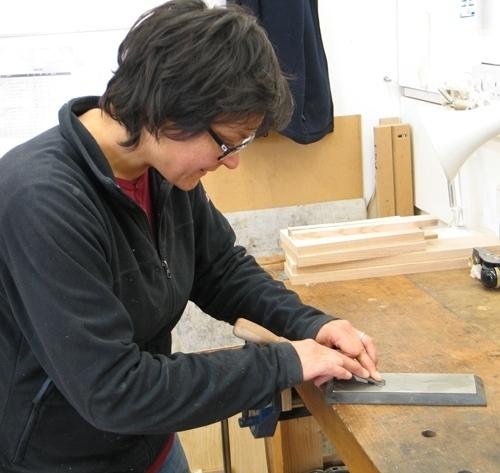 Sharpening chisel John Lloyd Course