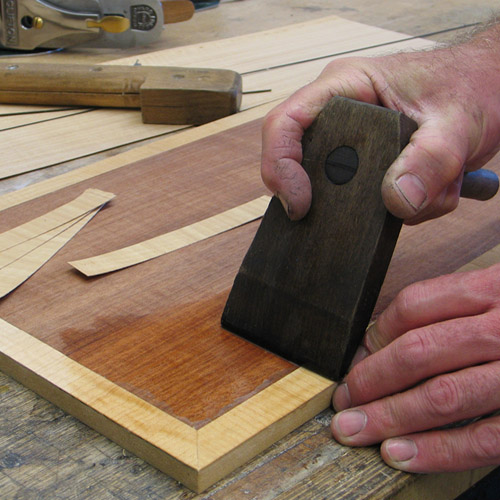 Veneering course john lloyd fine furniture for Furniture making courses