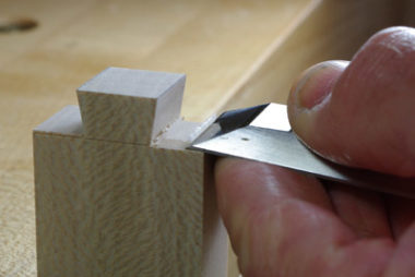 Cutting dovetail 2