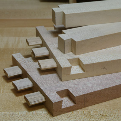 Cutting dovetail 8