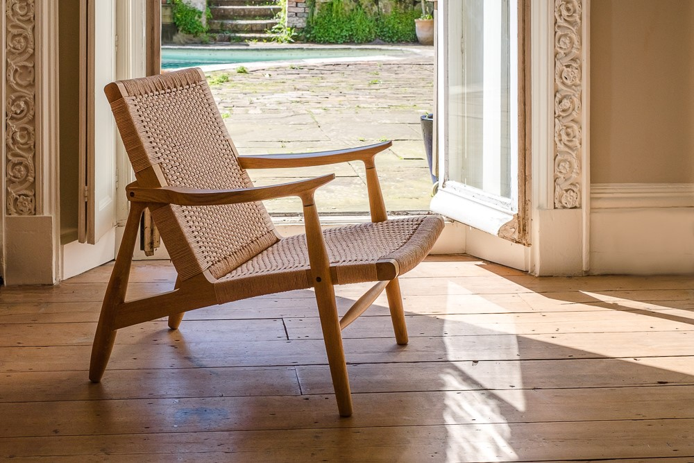 Martin Spencer Easy chair in Englihs Oak