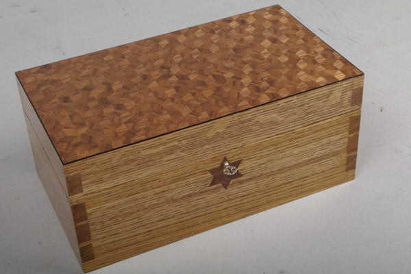 Peter Hunter parquetry box