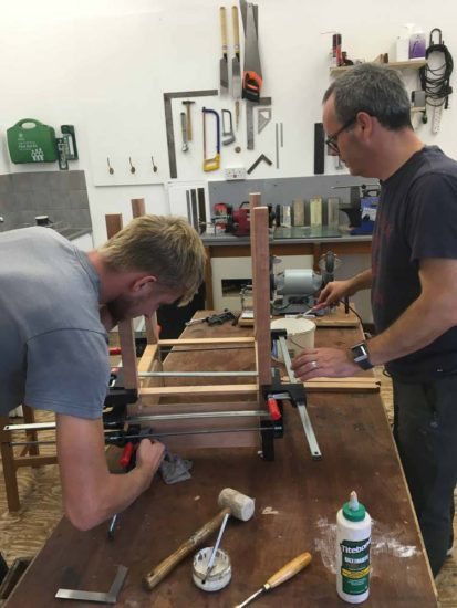 Woodwork Furniture Making School John Lloyd Fine Furniture